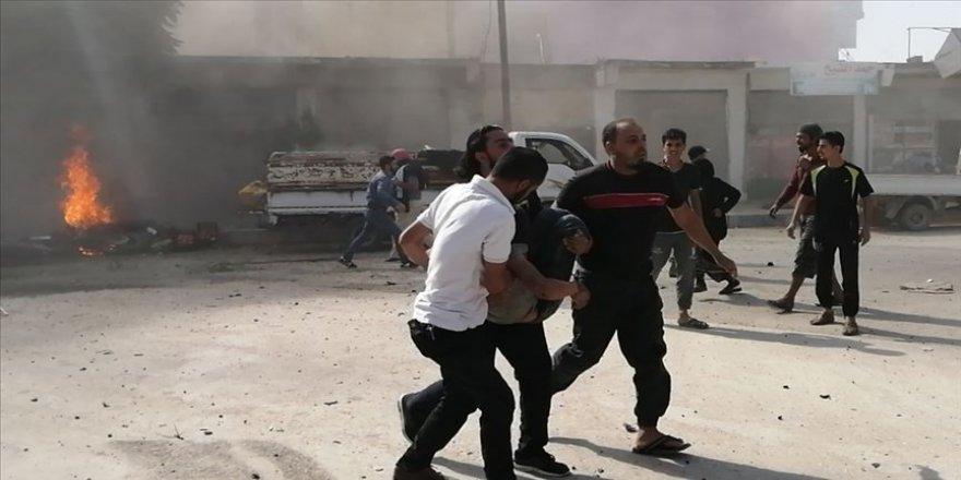 Suriye'nin kuzeyinde eş zamanlı terör saldırıları