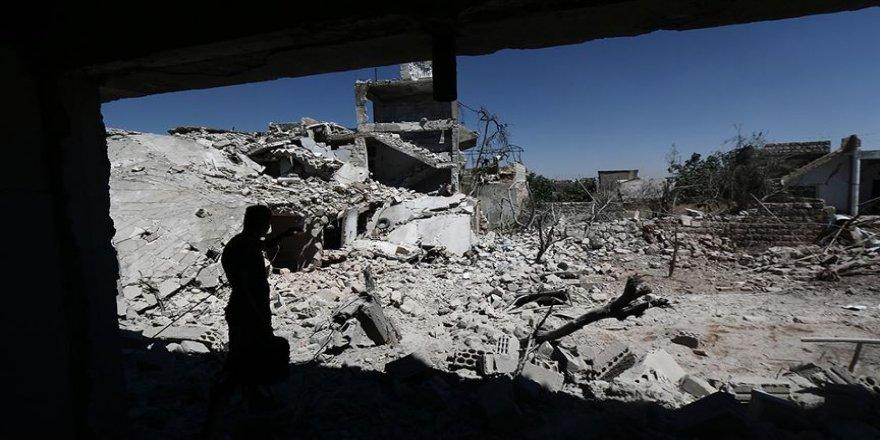 Rejimin İdlib'e saldırısında bir çocuk öldü