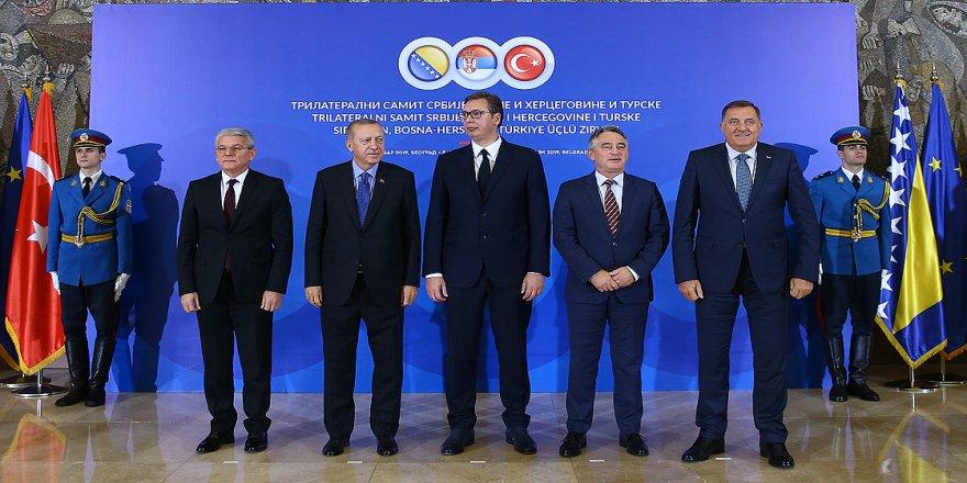 Türkiye-Sırbistan-Bosna Hersek Üçlü Zirvesi başladı