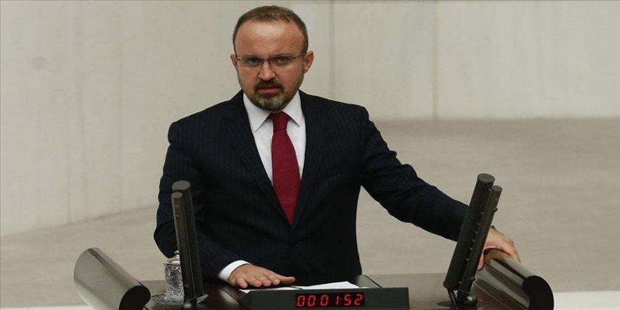 AK Parti Grup Başkanvekili Turan: Bu tezkere savaş değil barış tezkeresidir