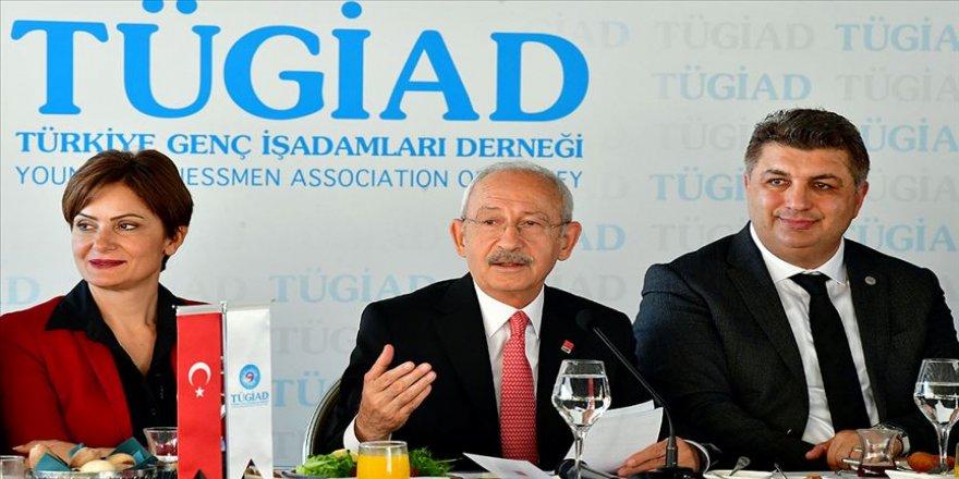 Kılıçdaroğlu TÜGİAD Yönetim Kurulu ile buluştu
