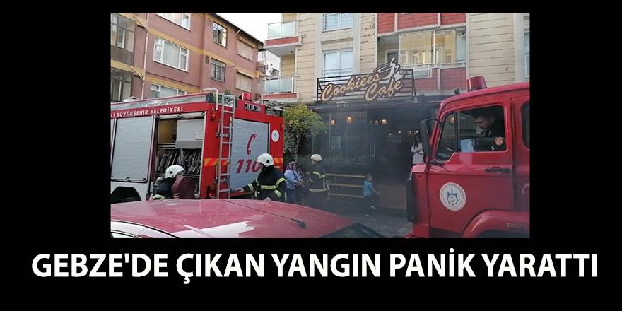 Yangın paniğe sebep oldu