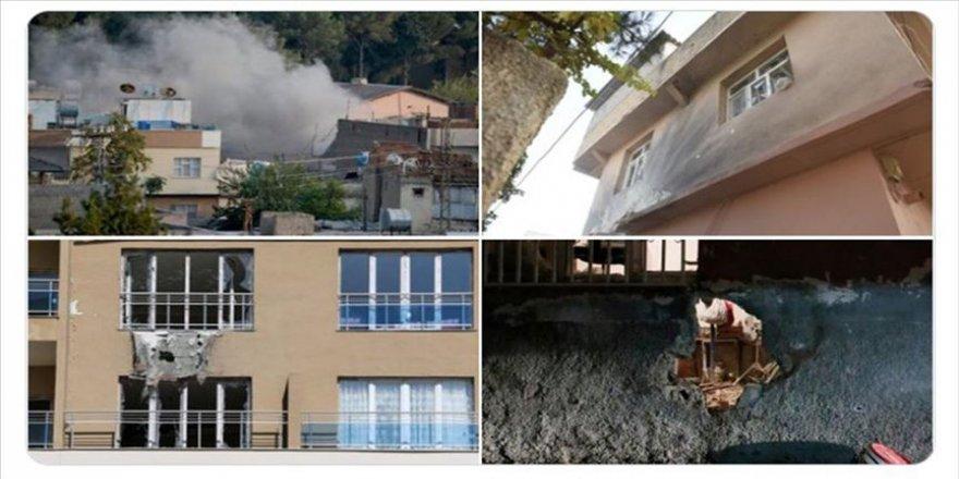 Milli Savunma Bakanlığı: Teröristler okul ve hastanelere gizlenerek saldırı yapıyor