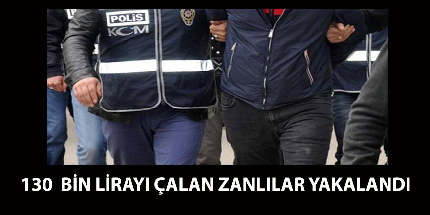 Darıca'da 130 bin TL'yi çalan zanlılar yakalandı