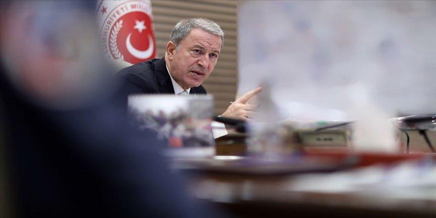 Milli Savunma Bakanı Akar: Şu ana kadar 342 terörist etkisiz hale getirildi
