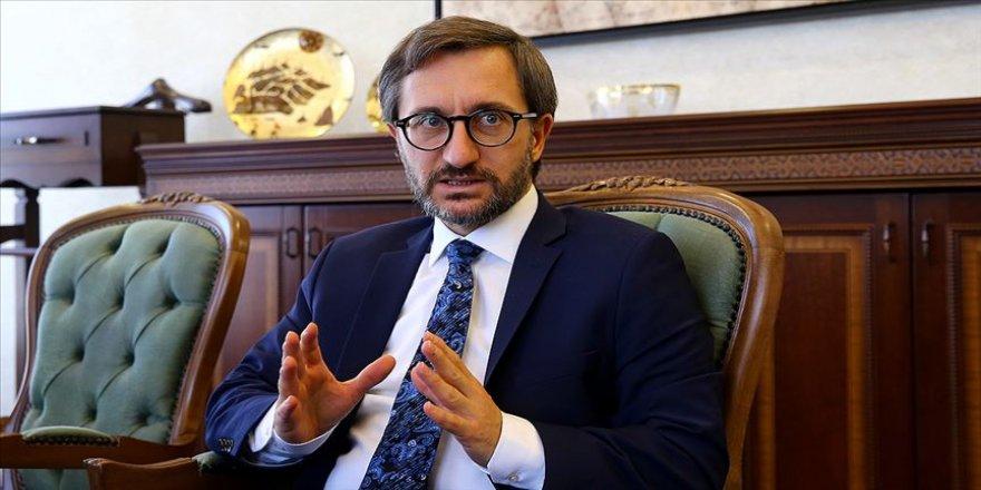 İletişim Başkanı Altun'dan DEAŞ'la mücadelede kararlılık mesajı