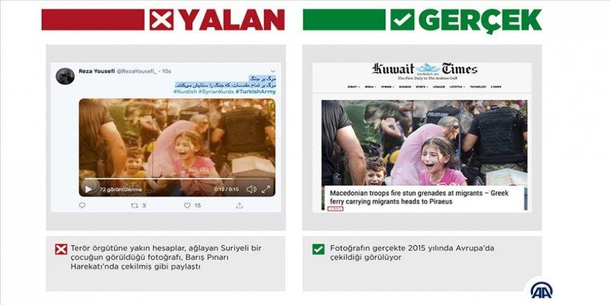 Barış Pınarı Harekatı aleyhinde 'kaçan sivillerin' fotoğraflarıyla manipülasyon girişimi