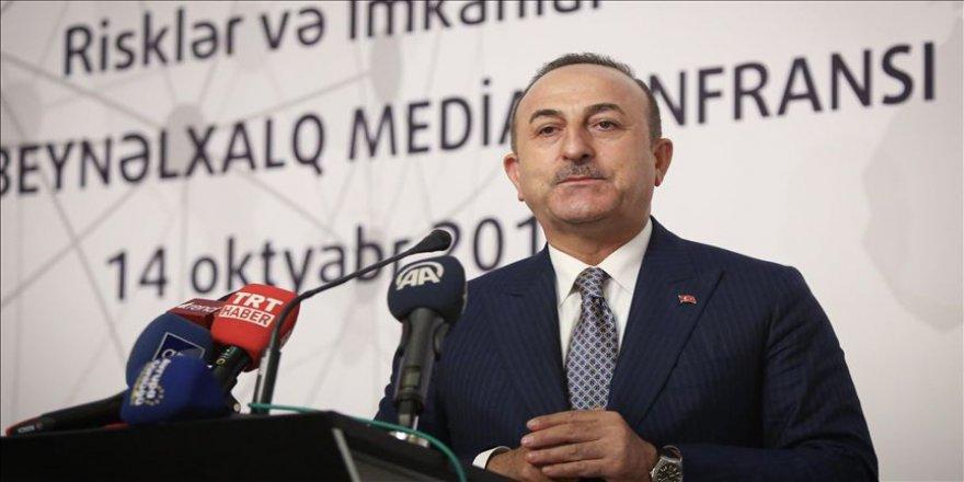 Dışişleri Bakanı Çavuşoğlu: Türkiye büyük bir oyunu bozdu