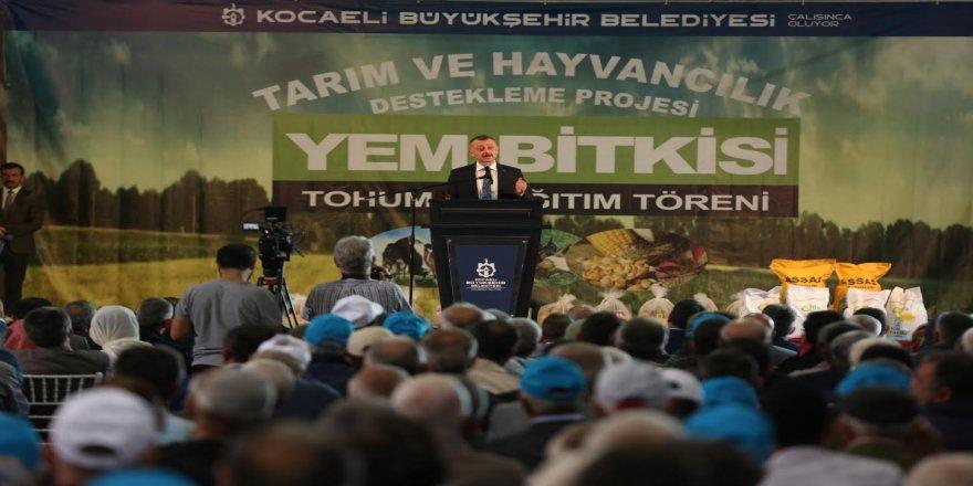 ''Sadık yârimiz topraktır, Toprağa sahip çıkmalıyız''