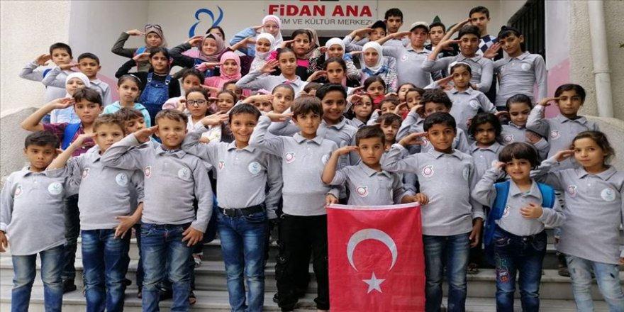 Afrinli yetimlerden mesaj: Korkmayın, Türk askeri ve Milli Ordu sizi kurtarır