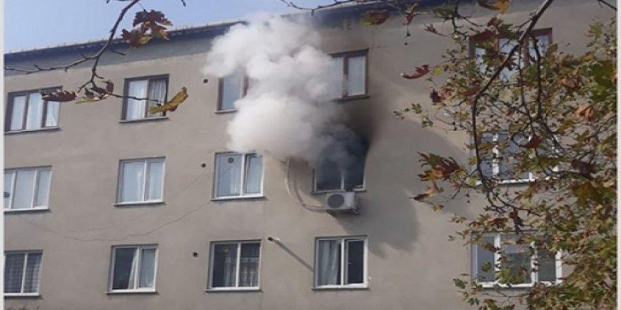 Darıcada korkutan yangın