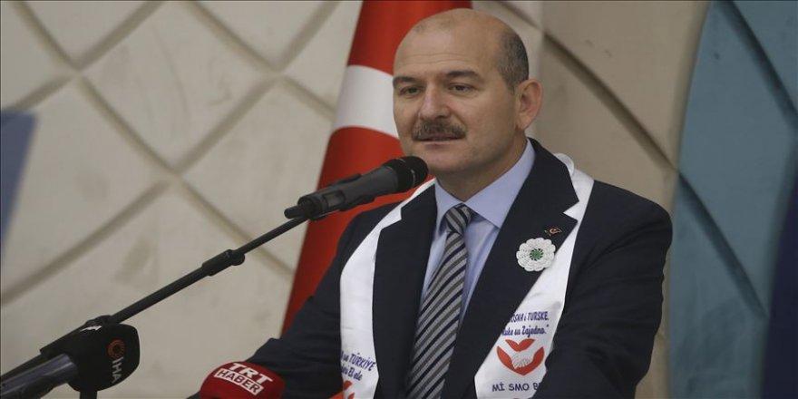 İçişleri Bakanı Soylu: Avrupa terör örgütlerinin zulmüne arkasını dönmeyi tercih ediyor