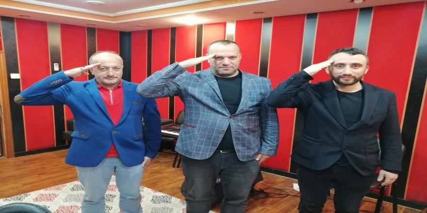 Barış Pınarı Harekatı'na destek olmak için türkü bestelediler