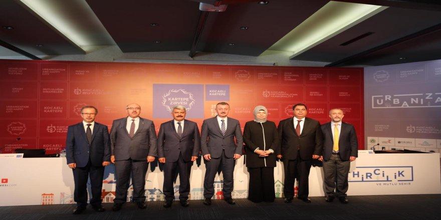 Açılış konuşmasını Emine Erdoğan yapacak