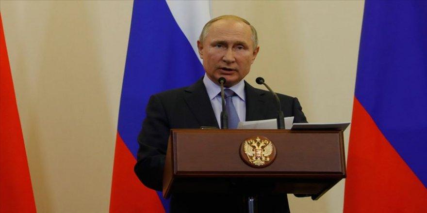 Rusya Devlet Başkanı Putin: Türkiye'nin ulusal güvenliğine yönelik adımlarını anlayışla karşılıyoruz