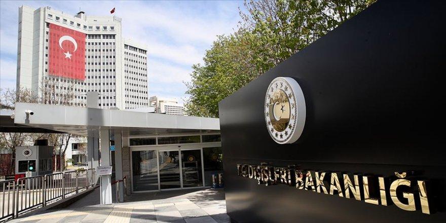 Türkiye'den AP'nin Barış Pınarı Harekatı kararına tepki