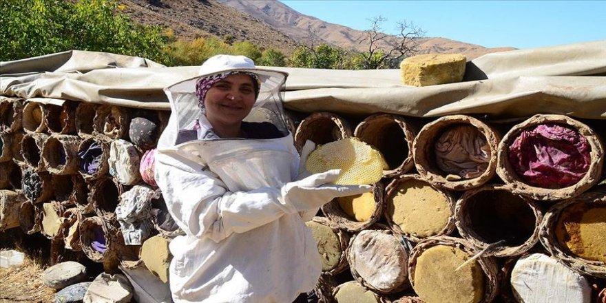 Hizanlı kadın arıcı 40 kovanı 4 yılda 750 kovana çıkardı