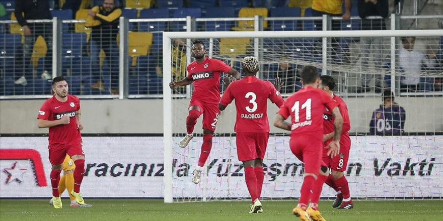 Gaziantep FK, başkentte 3 puanı son dakika golüyle kaptı