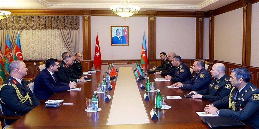 Türkiye-Azerbaycan 2020 askeri iş birliği faaliyet planı onaylandı