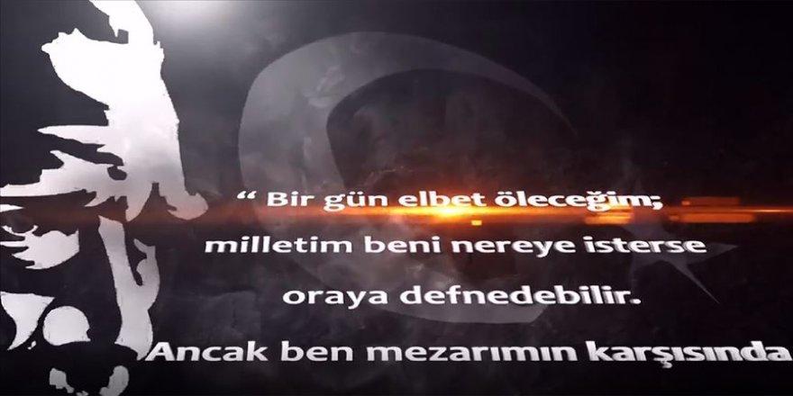 MSB'den Ata'nın ebedi istirahatgahına özel video