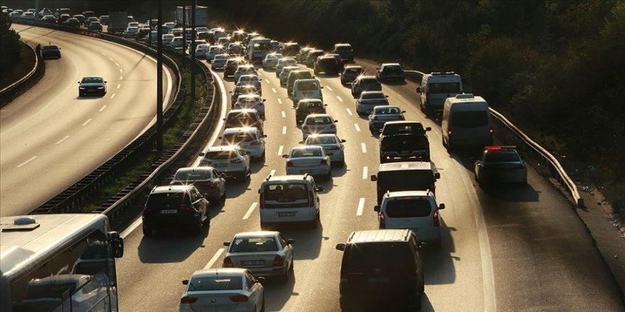 Trafiğe kayıtlı otomobillerde liderlik ilk kez dizel araçlarda