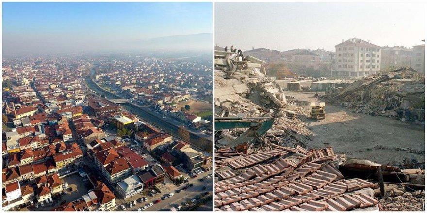 Düzce'de 20 yıl önceki depremin izleri silindi