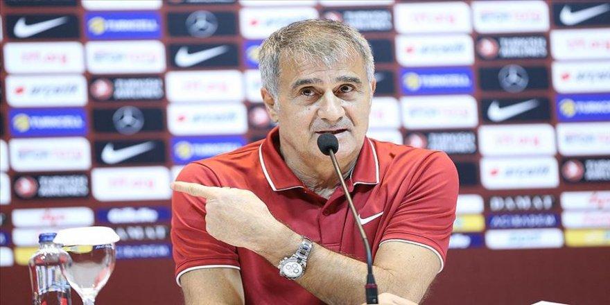 A Milli Futbol Takımı Teknik Direktörü Güneş: Son düzlüğe geldik son adımı da iyi yapmak istiyoruz