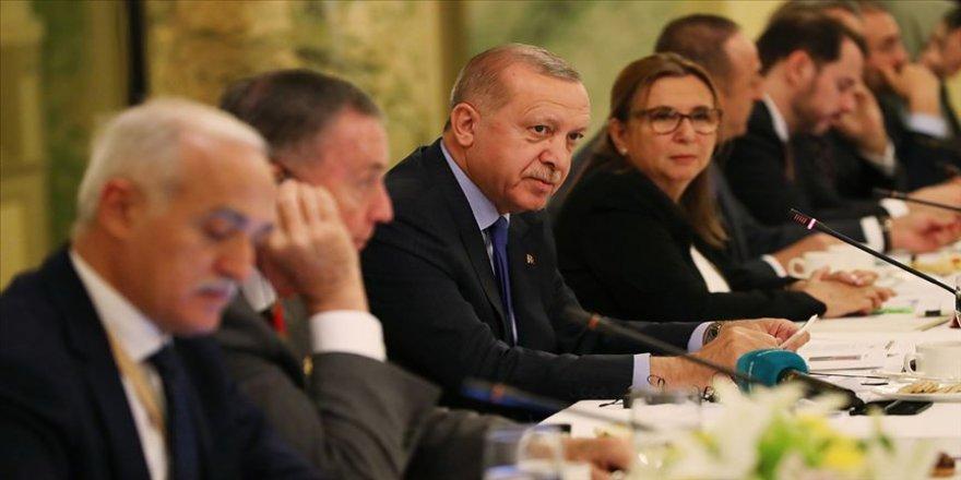 Cumhurbaşkanı ABD'de Yuvarlak Masa Toplantısı'na katıldı