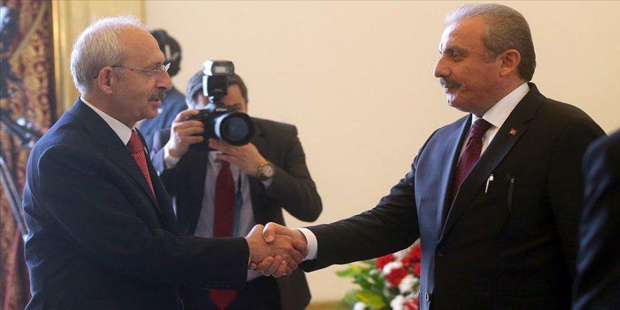 TBMM Başkanı Şentop, CHP Genel Başkanı Kılıçdaroğlu ile görüşecek