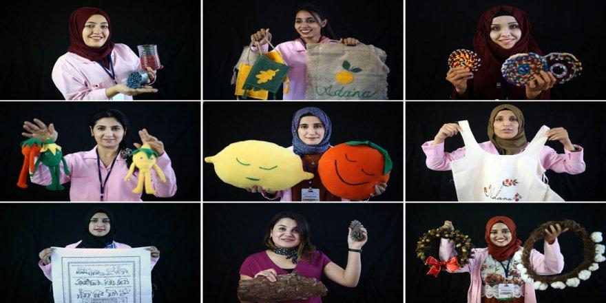 Suriyeli ve Türk kadınlar 'Ekmek Kapısı'nda istihdama katıldı
