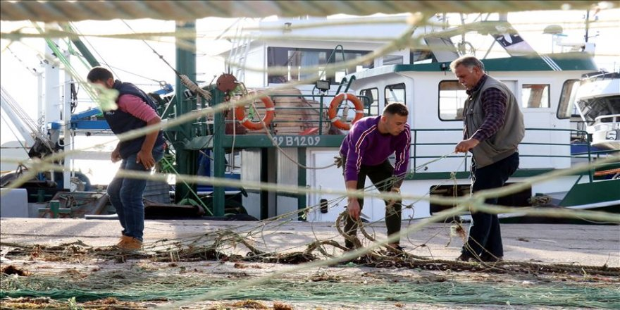 İğneadalı balıkçılar dört gözle havaların soğumasını bekliyor