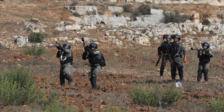 İsrail askerlerinden Gazze'ye destek gösterisine müdahale