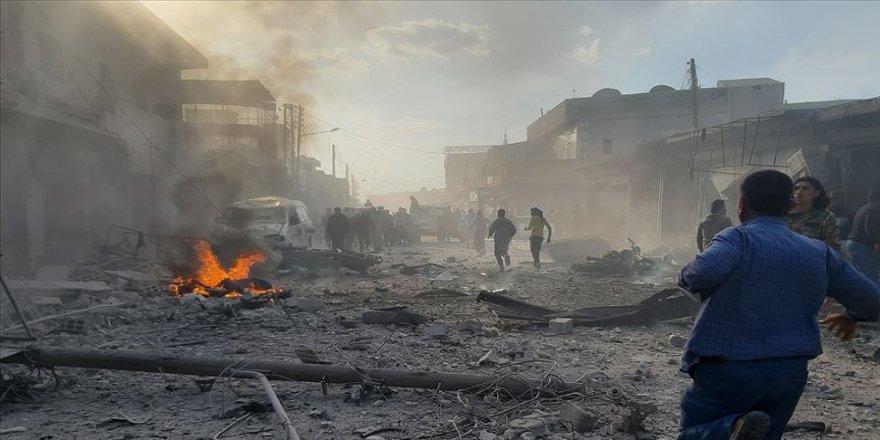 Bab'da bombalı terör saldırısı: 10 ölü