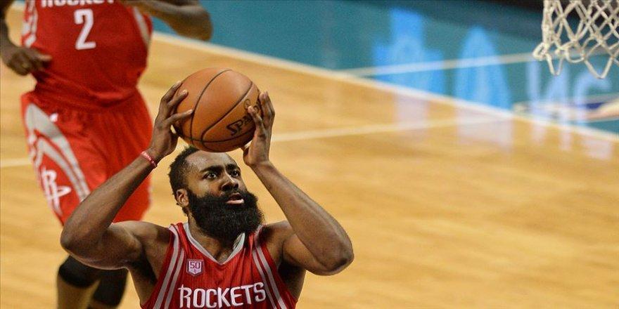Harden 49 sayı attı Rockets üst üste 7. galibiyetini aldı