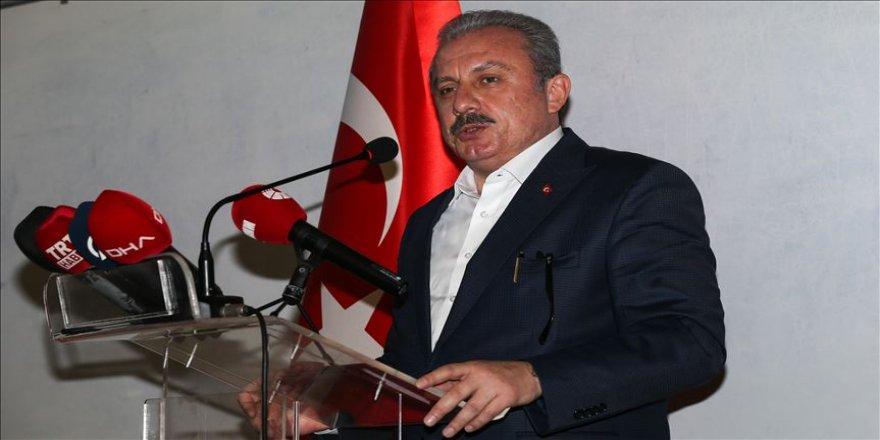 TBMM Başkanı Şentop 'Meclis Simülasyonu' etkinliğinde konuştu
