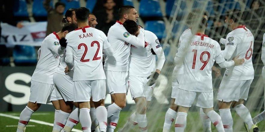 A Milliler Avrupa yolundaki son maçını rahat kazandı