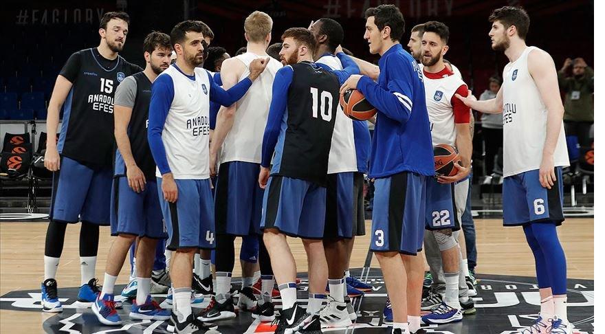 Anadolu Efes THY Avrupa Ligi'nde Fransa'da ASVEL'le karşılaşacak