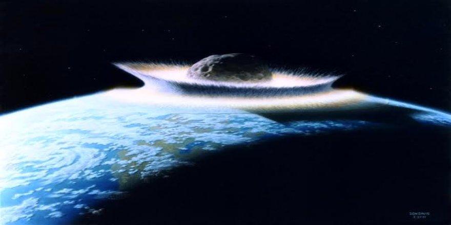 NASA korkutan patlama için tarih verdi ! Dünya'ya çarpacak gök taşı milyonları öldürecek