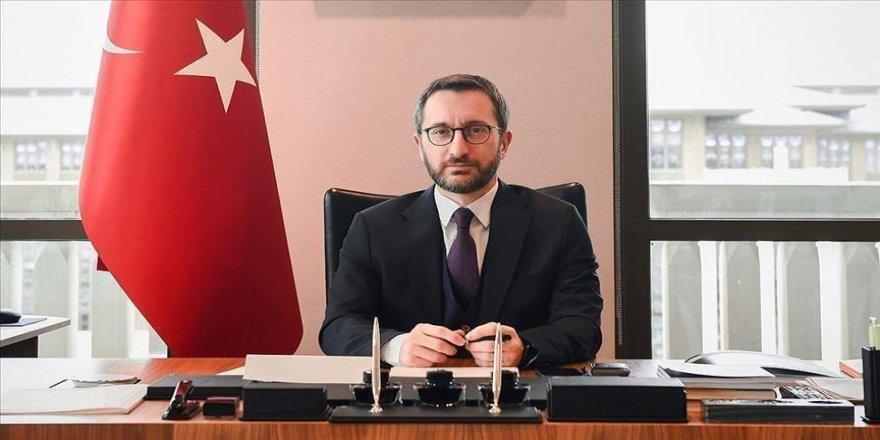 İletişim Başkanı Altun: Türkiye terör örgütlerine karşı amansız bir mücadele yürütüyor