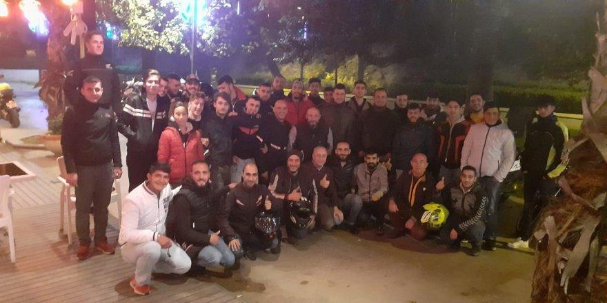 Motorsikletliler Gebze'de Toplandı !