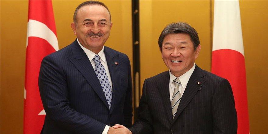 Dışişleri Bakanı Çavuşoğlu Japon mevkidaşı Motegi ile görüştü