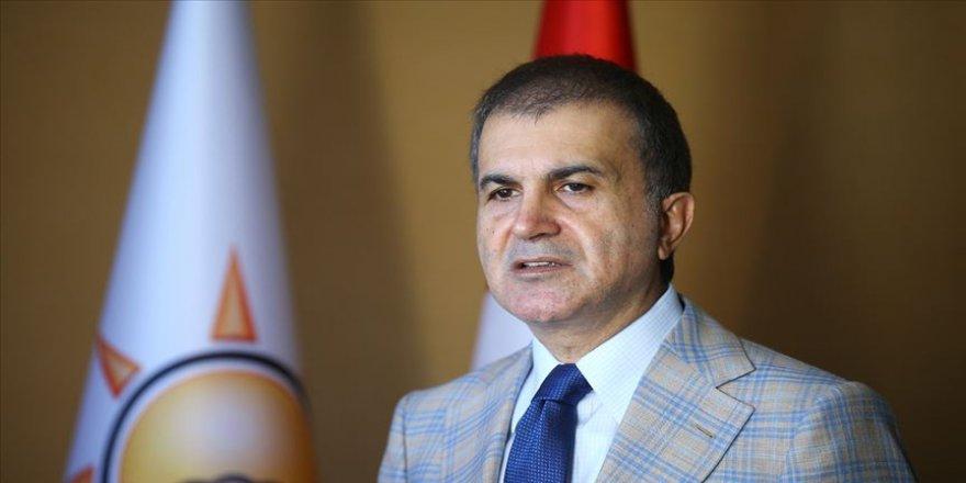 AK Parti Sözcüsü Ömer Çelik: CHP yönetimi yalandan medet umuyor