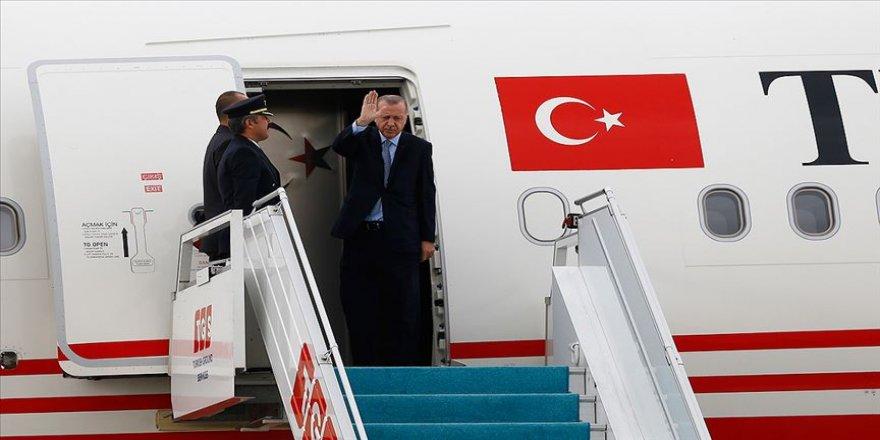 Cumhurbaşkanı Erdoğan yarın Katar'a gidecek