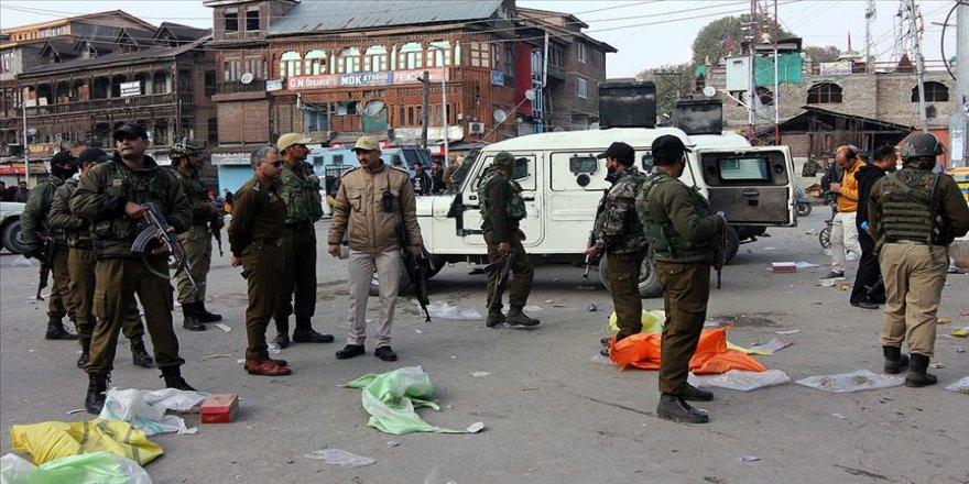 Cammu Keşmir'de terörle bağlantılı olaylarda 20 kişi hayatını kaybetti