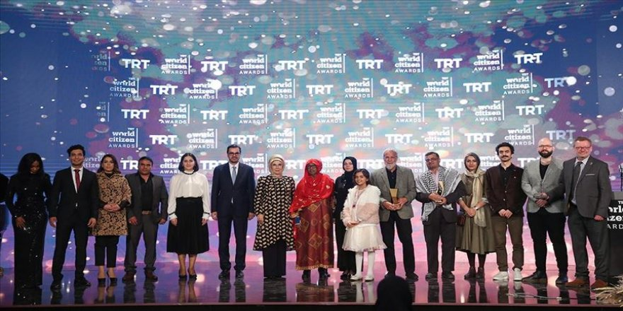 TRT World Citizen Ödülleri sahiplerini buldu