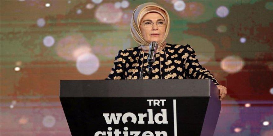 Emine Erdoğan: Topraklarımız tarih boyunca zulümden kaçanlara yurt olmuştur