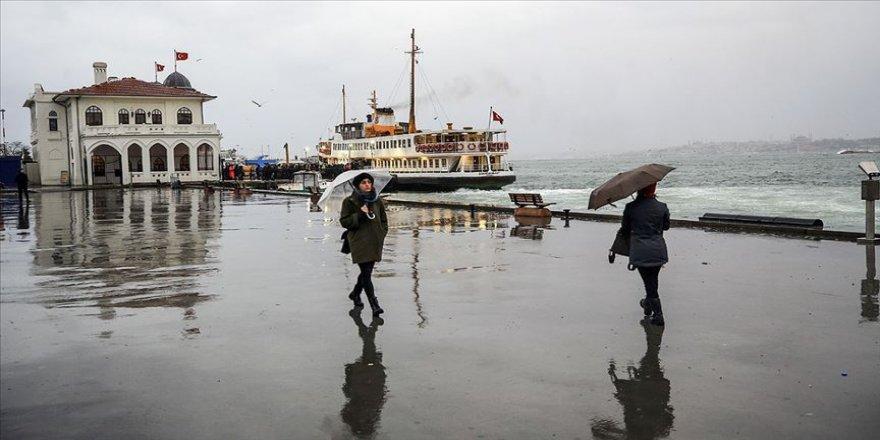 Marmara Bölgesi'nde kuvvetli sağanak bekleniyor