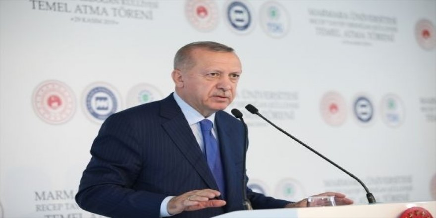 Recep Tayyip Erdoğan Külliyesi'nin temeli atıldı