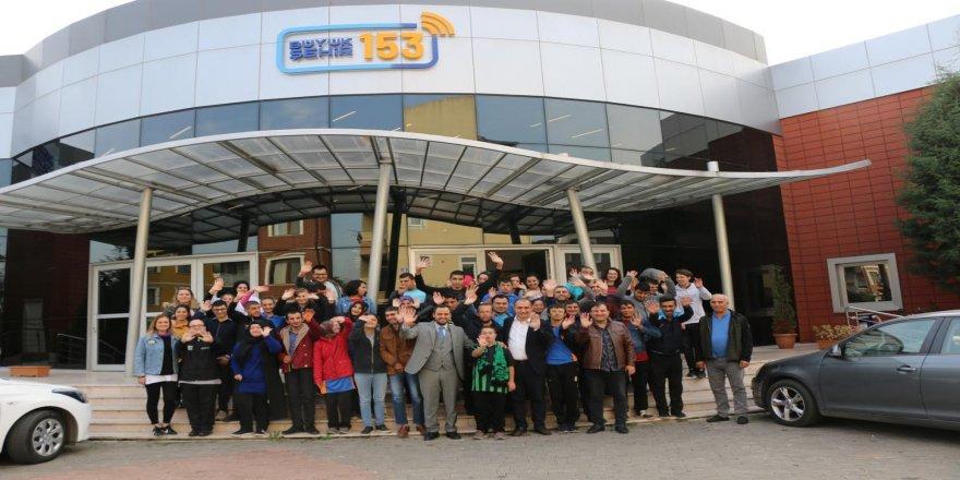 Özel bireyler, 153 Çağrı Merkezi'nde özel bir gün geçirdi