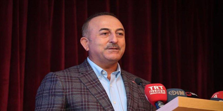 Bakan Çavuşoğlu: Kanal İstanbul'la dünyada denizcilik ve ulaşım tarihi değişecek